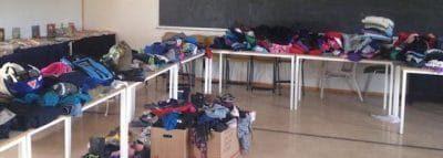 Klistrelapper til merking av klær og utstyr