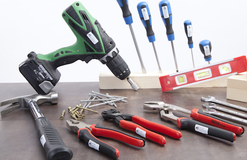 Navnelapper til verktøy, verktøylapper, Smartlapper.no