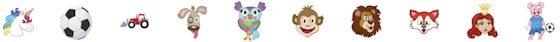 Fargelapper ikoner, fra Smartlapper