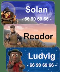Flåklypa navnelapper