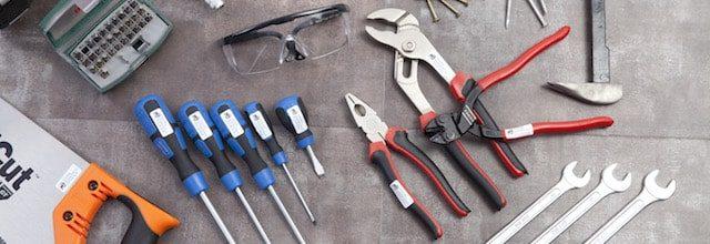 Navnelapper til verktøy, fra Smartlapper.no