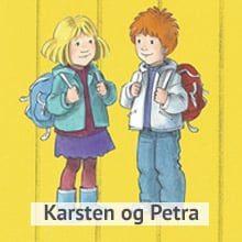 Karsten og Petra Navnelapper. Smarte navnelapper som kun fås kjøpt på Smartlapper.no