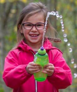 Sistema drikkeflaske med vannsprut