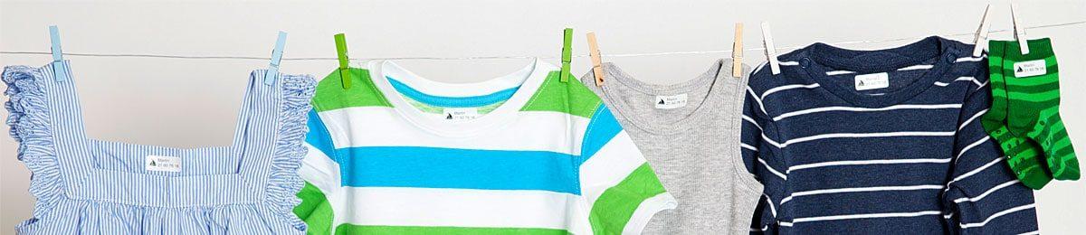 Merking av klær - navnelapper til å feste på tøy og tekstiler